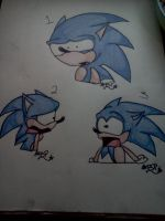 Sonic Expressions by Skye-TheHedgehog