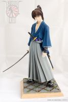 Rurouni Kenshin, Samurai X garage kit by Michael-XIII