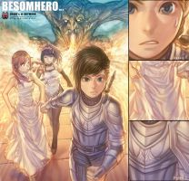 BesomHero Vol.4 Cover by Cushart