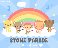 Stone Parade CD Cover by SqueakyToybox