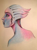 Asari ( hanar and pureblood ) by Shellcirlis
