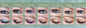A Week of Eyeshadow by yay-party