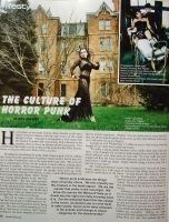 Gothic Beauty Tear Sheet by laurna