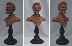 Monster Clay: JOKER 1:6 Bust by AntWatkins