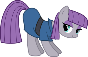 Maud Pie - A little less than fun by RAGErER