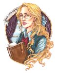 Leda-Valentyne O.S. - Glasses Portrait by Calicot-ZC