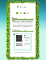 Spring Fling Journal CSS by jimmy-tm