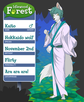 Idlewood forest: Kaito by 1wordinsane
