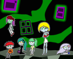 DP: The Children of the Ghostzone by lizzyphantom4ever