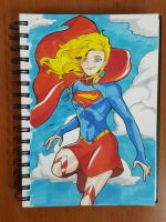 Day 93 Supergirl by TomatoStyles
