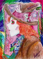 The Mad Hatter: Muchness by hewhowalksdeath