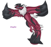 Request - Yveltal by The-Real-Shaydee