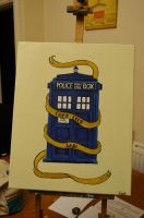 Doctor Who Good Luck Painting by katierocks252