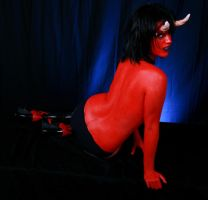 Devil Woman 11 by Deathrockstock
