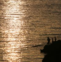Fishing Gold by Milkyway84