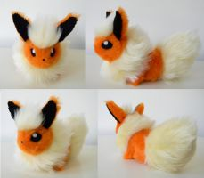 Random FLAREON appeared by SarityCreations
