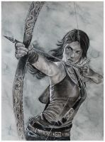 Tomb Raider Lara croft by Hollow-Moon-Art