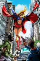 Super girl by NemafronSpain by Champe-rp