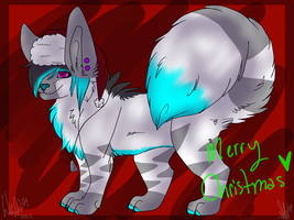 Christmas spam 1 by whitewolfspup