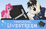 SFW Livestream Banner by Template93