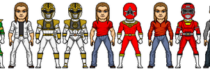 The Evolution of Tommy Oliver by MicroManED