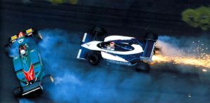 Riccardo Patrese | Nelson Piquet (Monaco 1985) by F1-history