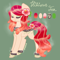 Hibiscus Tea Pondpony Adoptable [CLOSED] by Vpshka