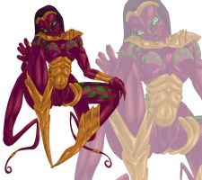Blackarachnia - Beast Machines by muffin-wrangler