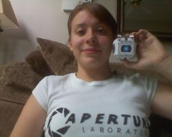 Aperture Science Shirt by morifangirl