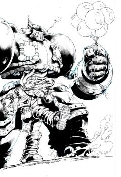 Gully and Calibretto of Battle Chasers by denart