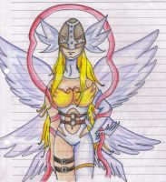 Angewomon - sketch by Kamanessa