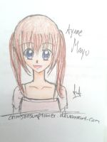 Color Practice: Ayane Mayu by crimsonsunflower