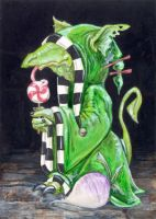 Dragon, Turnip, Lollipop by ursulav