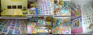 My Collection Of Pokemon by V-a-p-o-r-e-o-n
