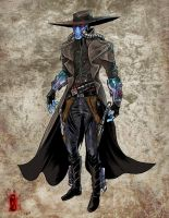 Cad Bane by thedarkestseason