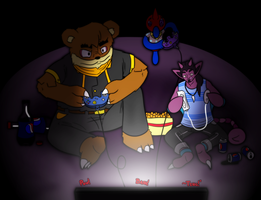 Armonia: Game Night by TheGrumpyTurtle