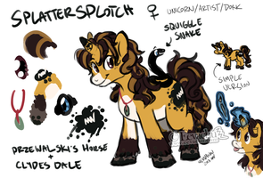 Splatter Splotch Rough Ref by Eevachu