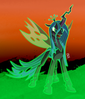 Changeling Queen by Dsurion