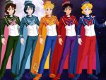 The Gender-Bent Sailor Guardians by CloudyRose06