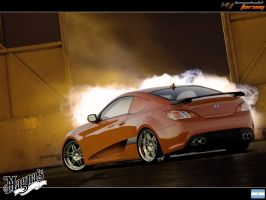 _Hyundai Genesis Coupe_ by magnanimus