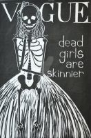 Dead Girls are Skinnier by killustrations