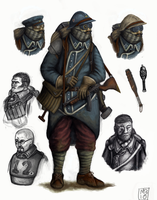 Soldier of the 4th republic by MattNB
