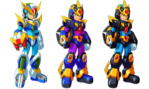 Glide and Ultimate Armor by ultimatemaverickx