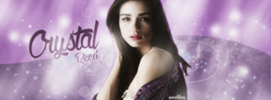 Crystal Reed/ Facebook Timeline by Sparkless111