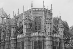 Westminster Abbey by CanisDiabolos