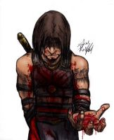 Prince of Persia 2 with blood. by jmk1999