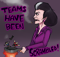 Teams Have Been Scrambled Collab by ApertureIndigo