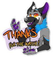 Thanks for the Watch! by acidraincloud