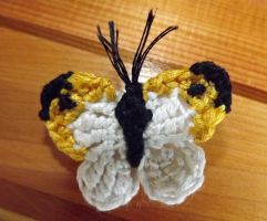 Butterfly Brooch by CoopiBella