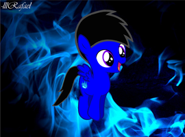 Blue Flame Realesed by lllRafaelyay
